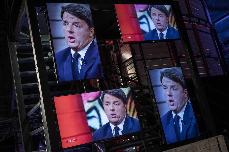 Matteo Renzi ospite di DiMartedì