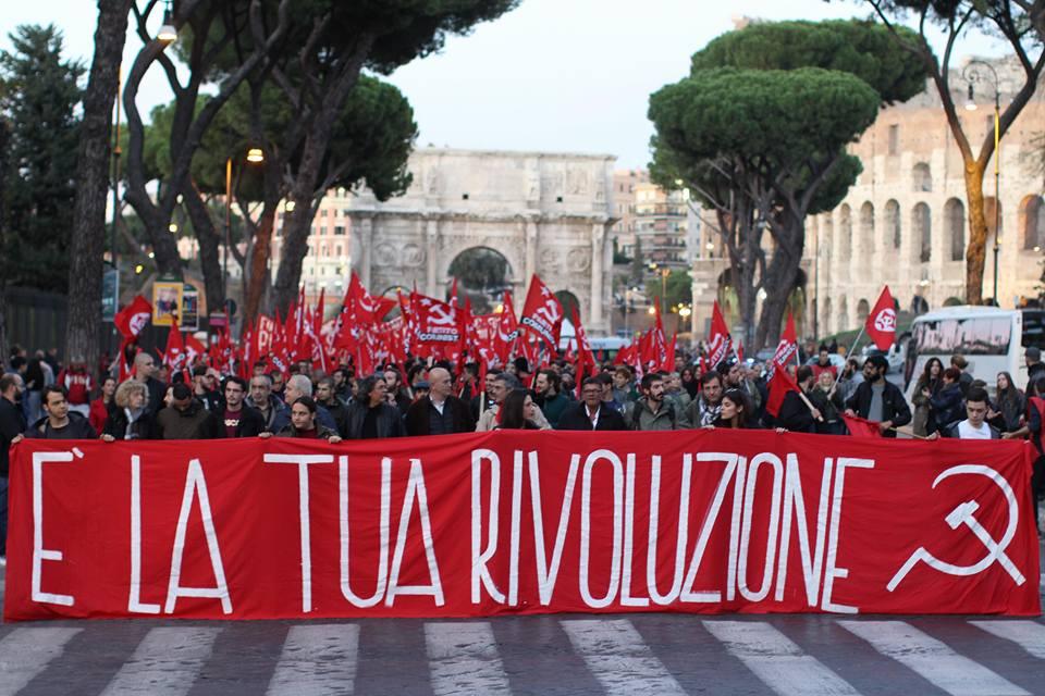 Manifestazione Nazionale Partito Comunista Roma 11 novembre