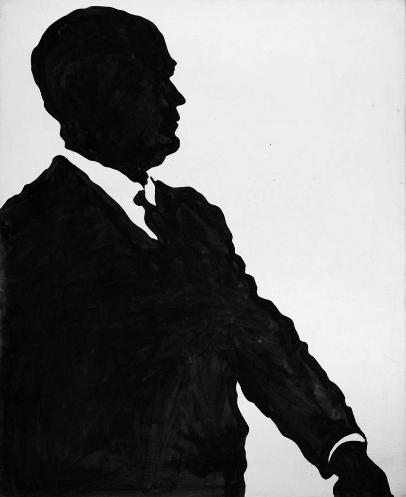 Un opera di Sergio Lombardo, 1963