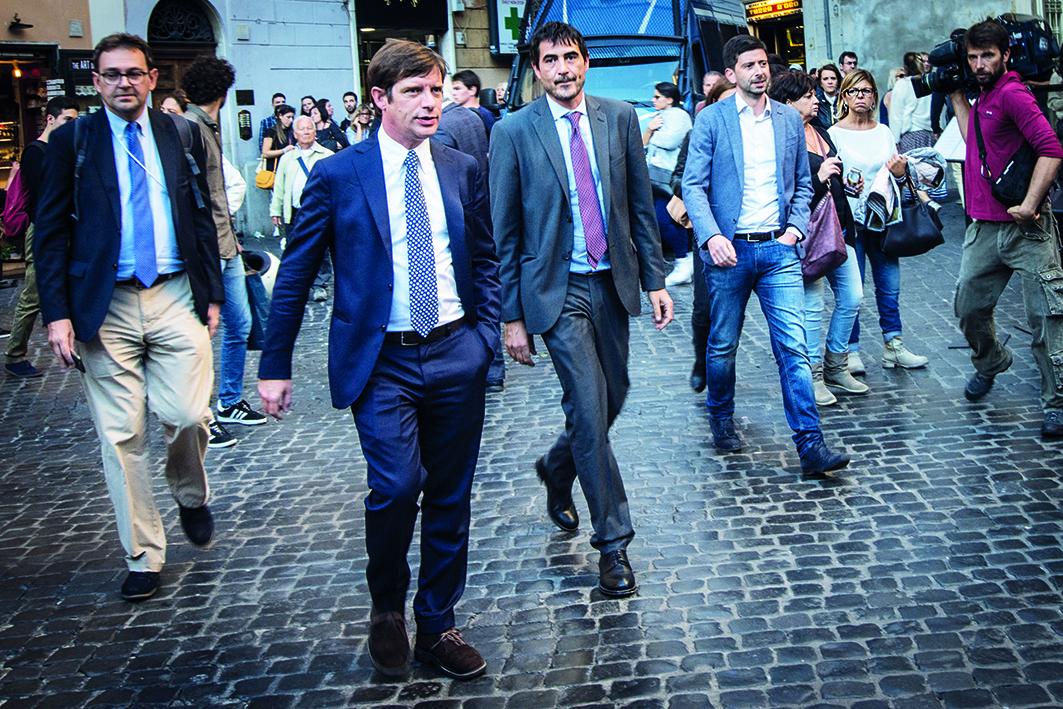 I 'ragazzi di sinistra': Speranza, Grasso, Civati e Fratoianni