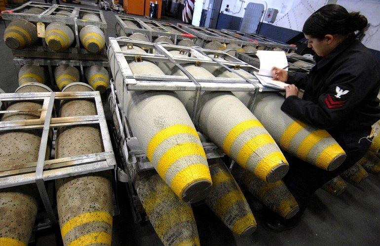 bombe prodotte dalla Rwm Italia di Domusnovas per l'Arabia saudita