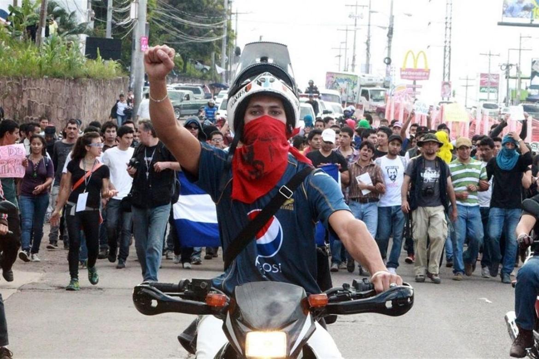 Proteste in Honduras dopo le presidenziali
