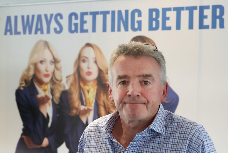 Il ceo di Ryanair Micheal O'Leary