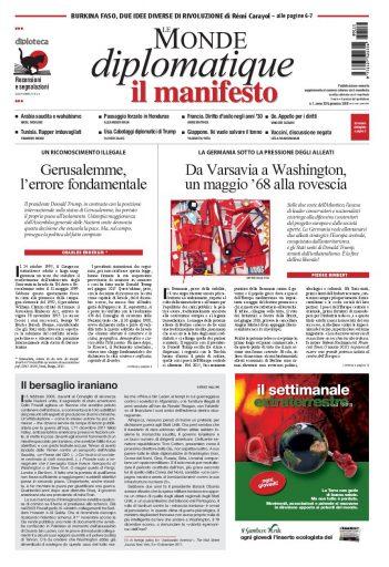 Le Monde diplomatique di gennaio 2018
