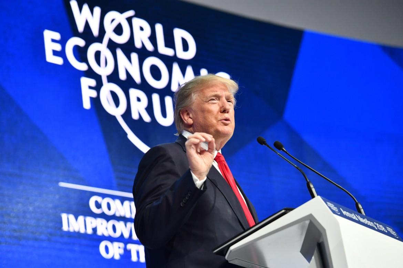 Trump a Davos