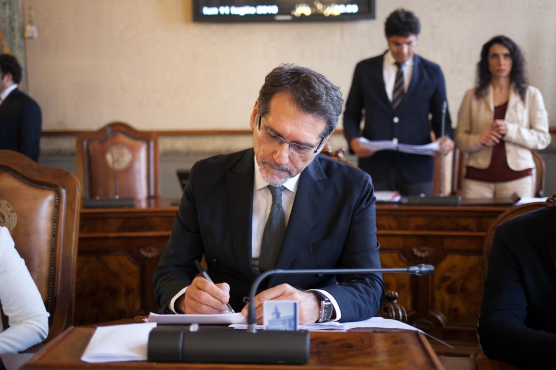 il sindaco Pd di Bologna Virginio Merola