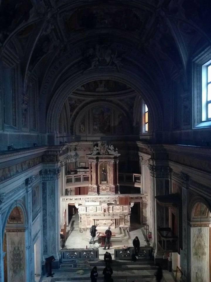 L'occupazione della chiesa di Sant'Antonio a Tarsia