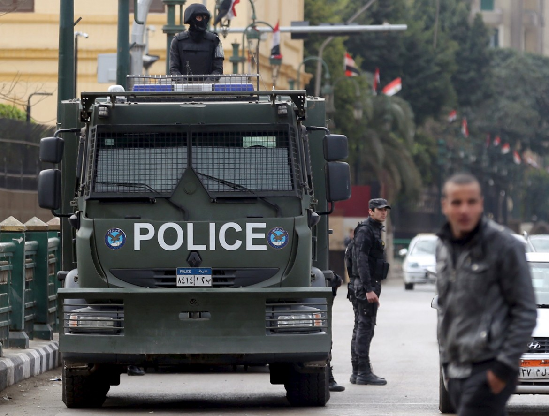 Poliziotti egiziani