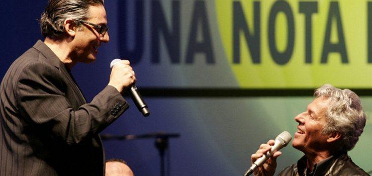 Fiorello e Claudio Baglioni