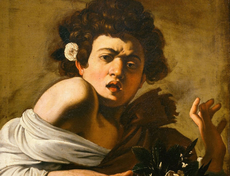 «Ragazzo morso da un ramarro», Caravaggio