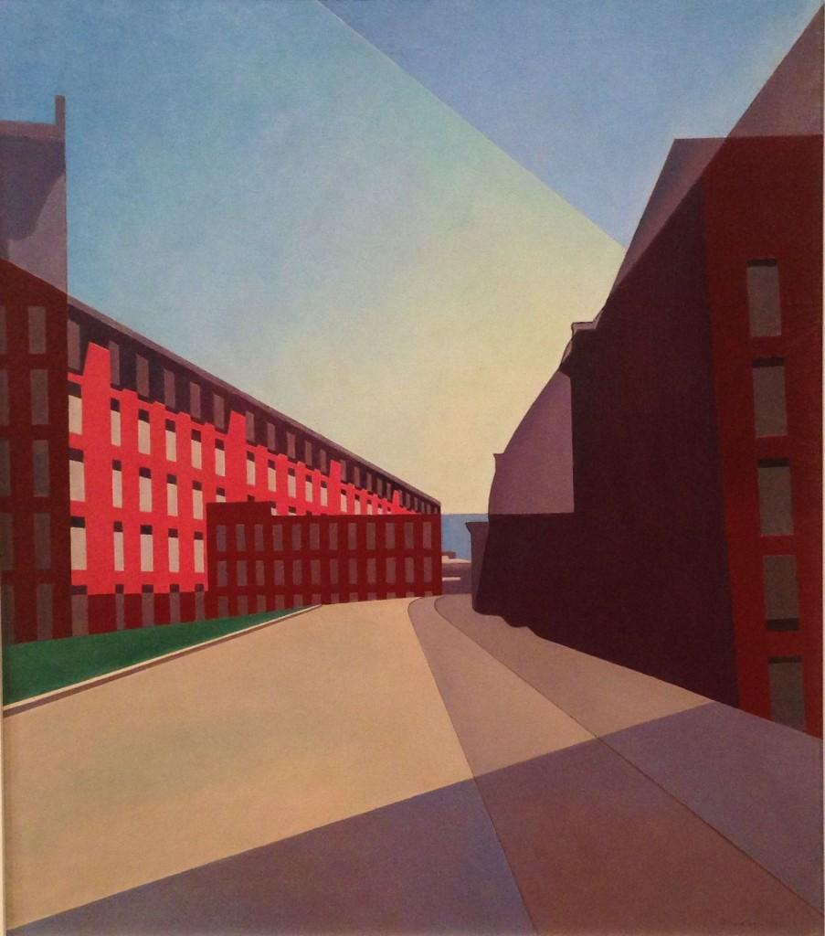 Charles Sheeler,  Amoskeag Mills 2, 1948