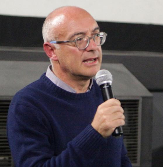 Federico Bellono, segretario della Fiom Cgil di Torino