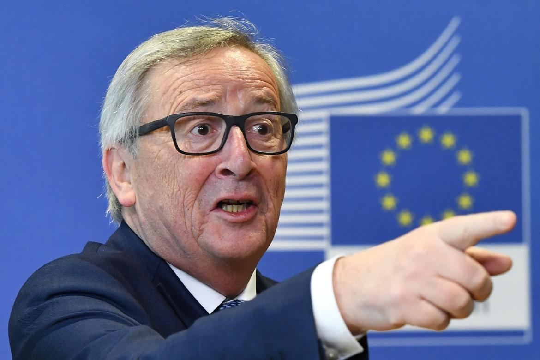 Il presidente della Commissione Ue Jean-Claude Juncker