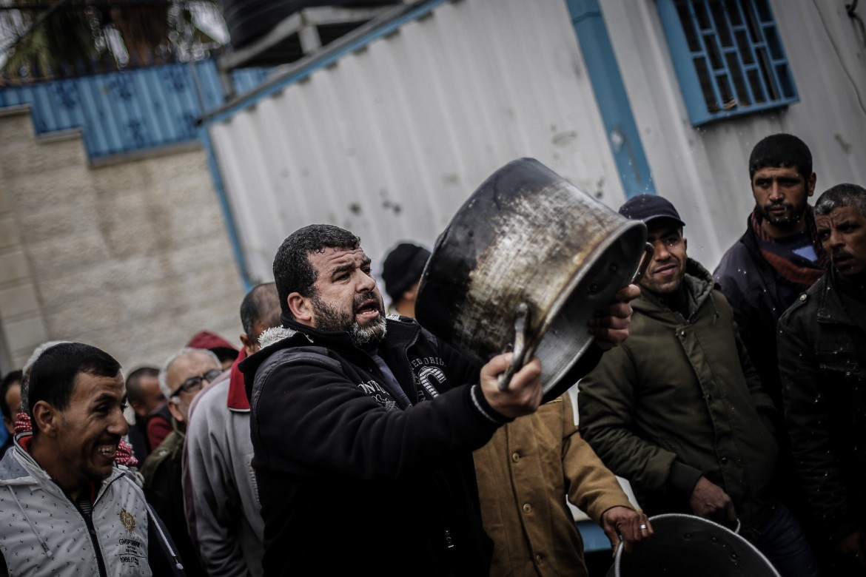 Proteste a Gaza per i tagli dell'agenzia Unrwa