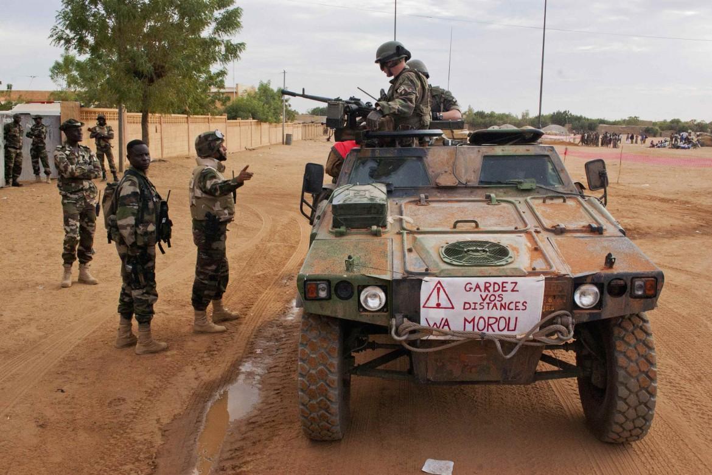 Soldati francesi in Mali