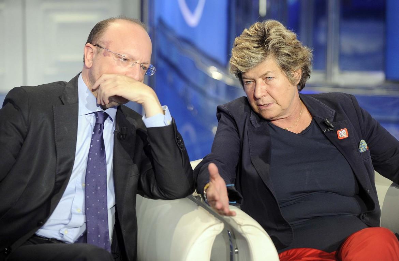 Il presidente di Confindustria Vincenzo Boccia e il segretario generale della Cgil Susanna Camusso