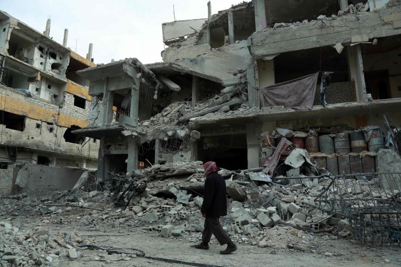 Un'immagine di Ghouta, Siria