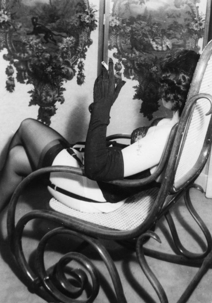 Carlo Mollino, Ritratto (senza titolo), 1956-1962 circa