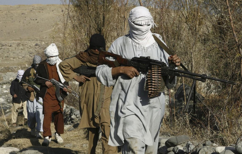 Un gruppo di talebani