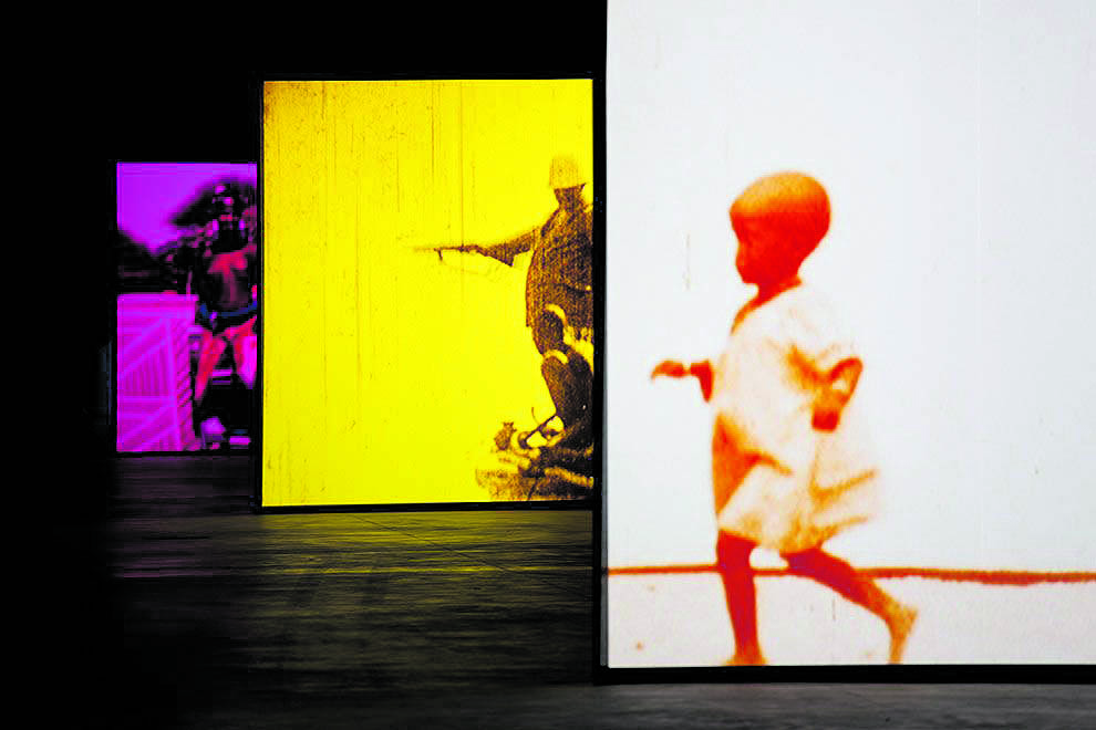 La mostra dedicata a Gianikian e Ricci Lucchi all'Hangar Bicocca