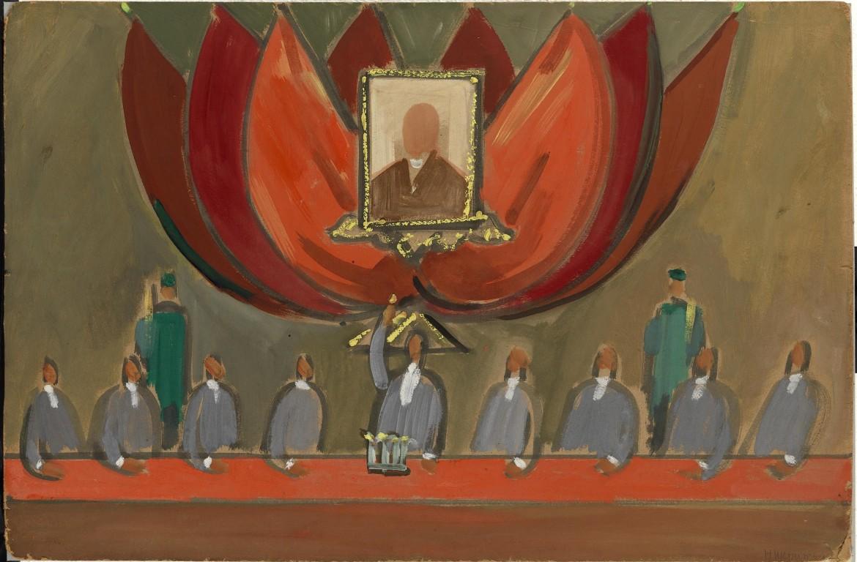 Solomon Nikritin, «Il tribunale», 1930