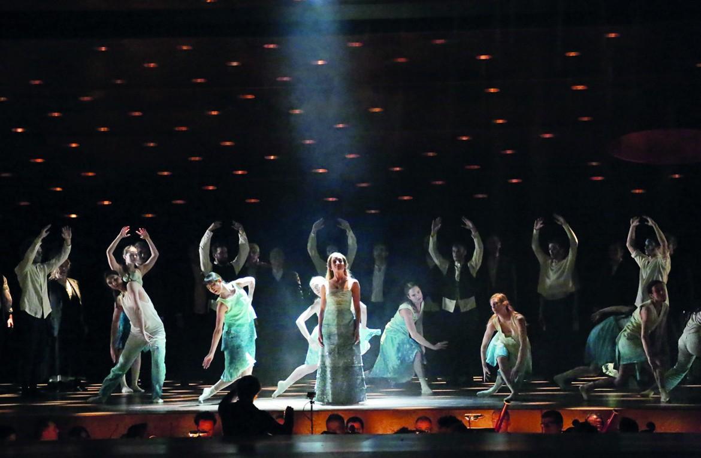 Una scena da «Orphée et Euridice»