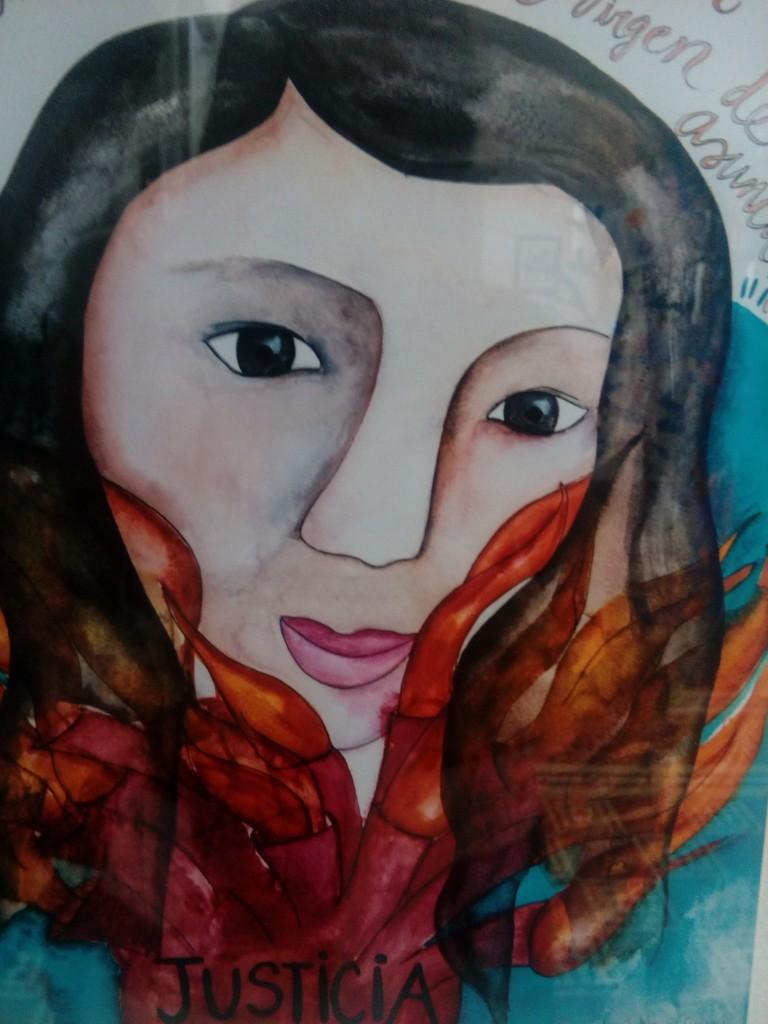 Il volto di una delle ragazze vittime del rogo