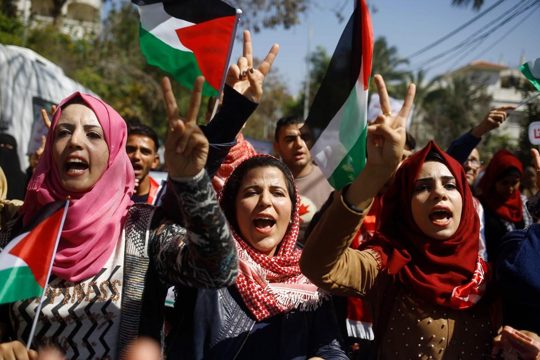 Manifestazione in Palestina