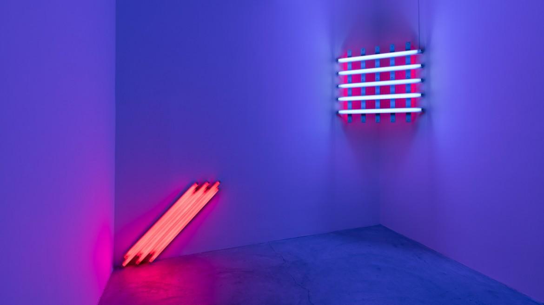 Dan Flavin, Installazione, Paula Cooper Gallery, 2016