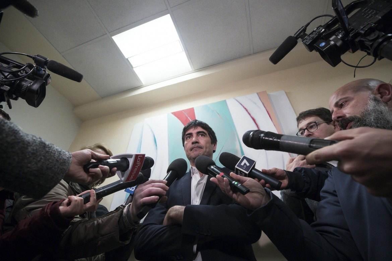 Nicola Fratoianni, segretario di Sinistra italiana