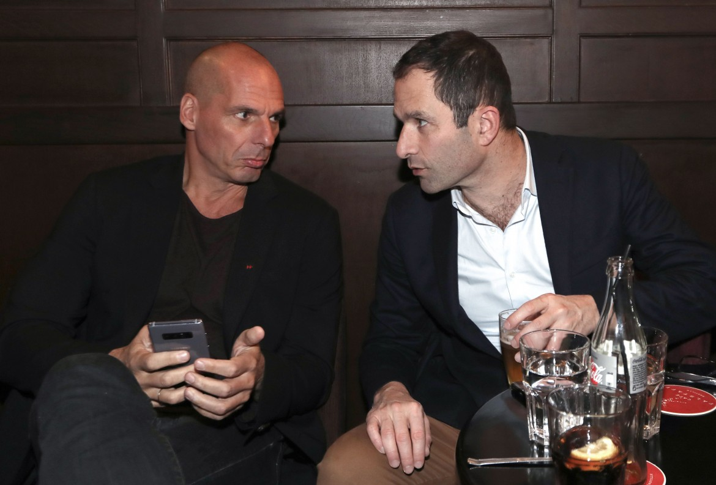 Yanis Varoufakis e Benoît Hamon