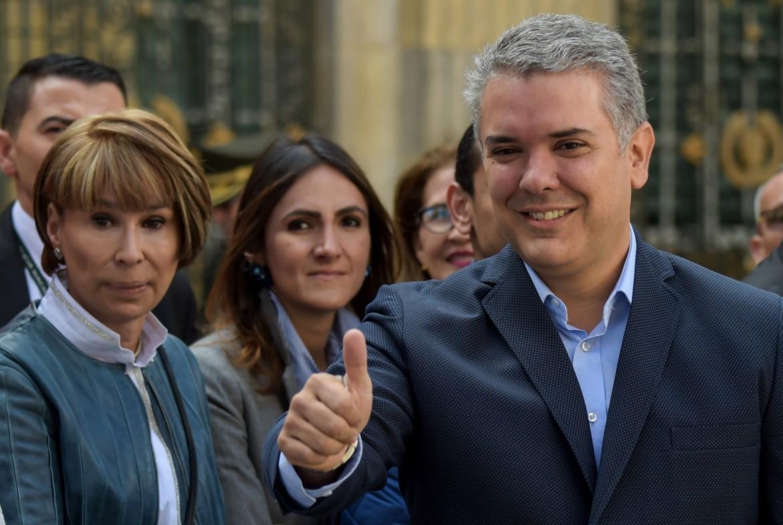 Iván Duque, neo eletto presidente colombiano
