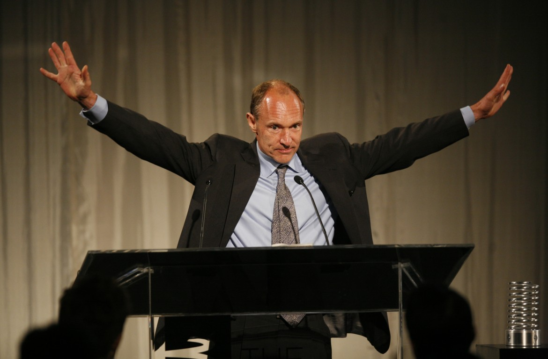 Tim Berners-Lee nel 2009