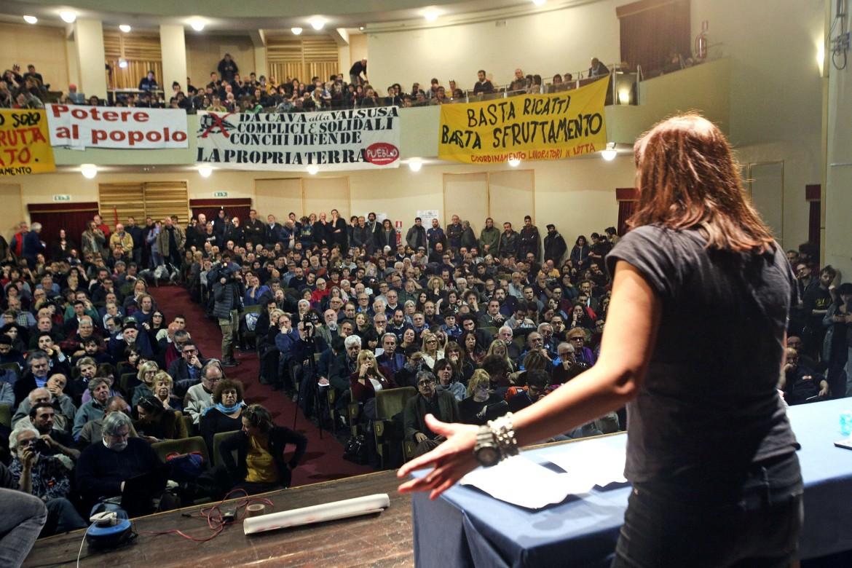 L'assemblea di Potere al popolo a Roma del 18 novembre 2017