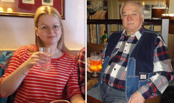 Sergei Skrypal e la figlia Yulia