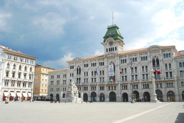 Trieste, il palazzo del municipio