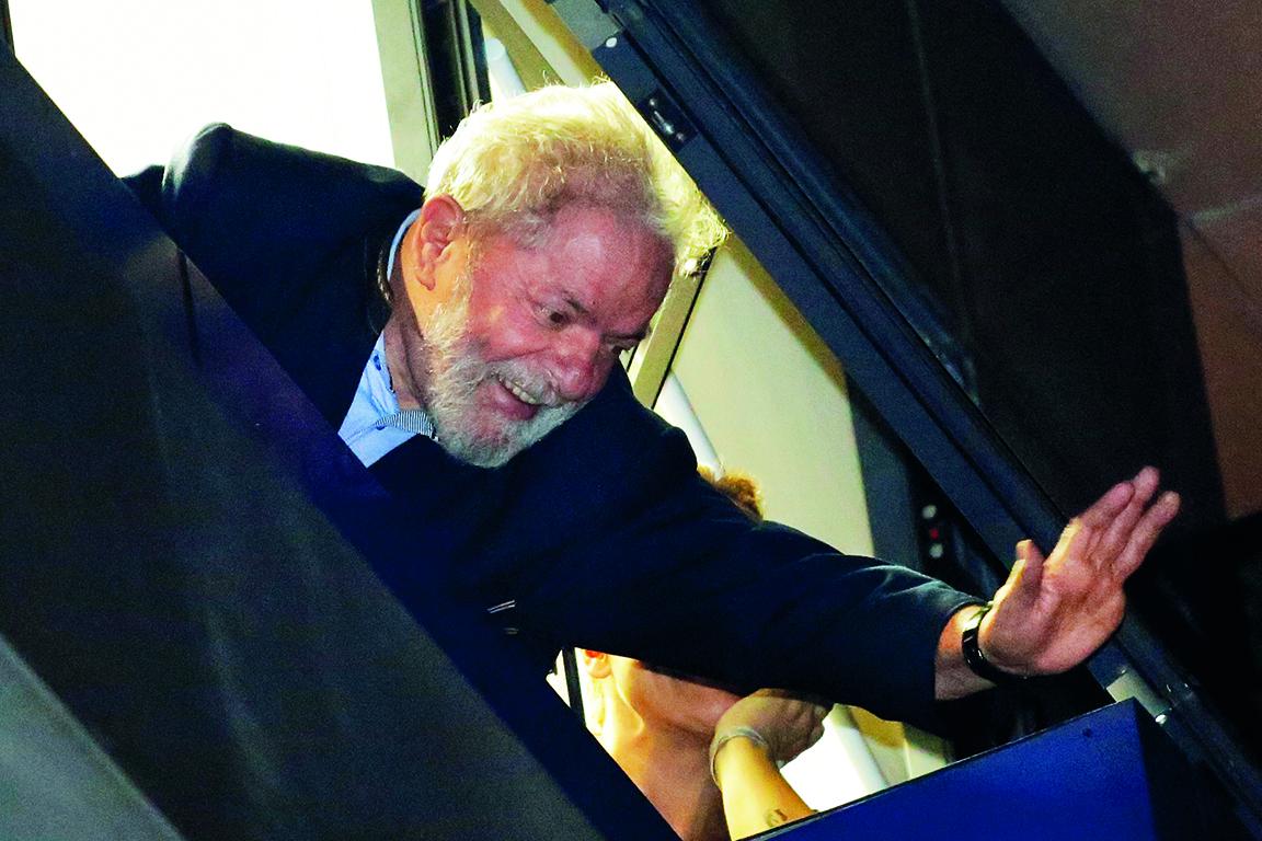 L'ex presidente brasiliano Lula