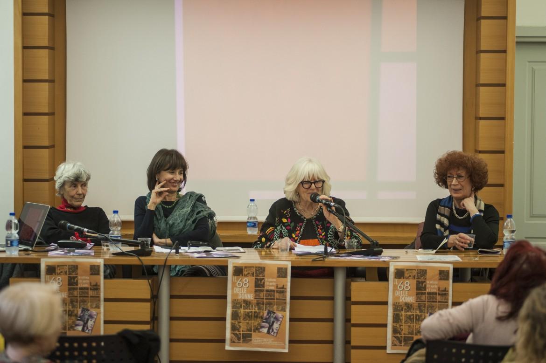 La presentazione alla Casa delle donne