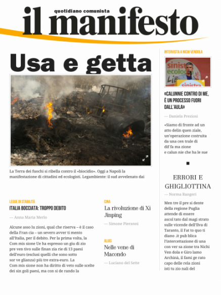 Edizione del 16112013