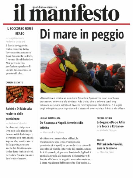 Edizione del 20032018