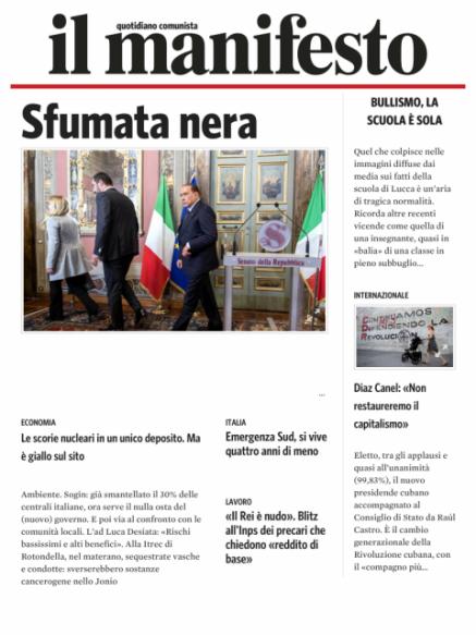 Edizione del 20042018