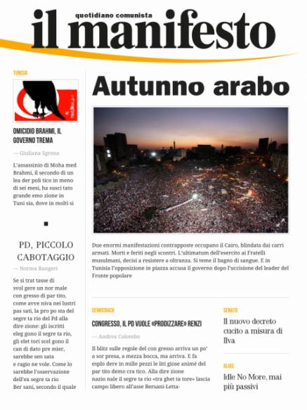 Edizione del 27072013