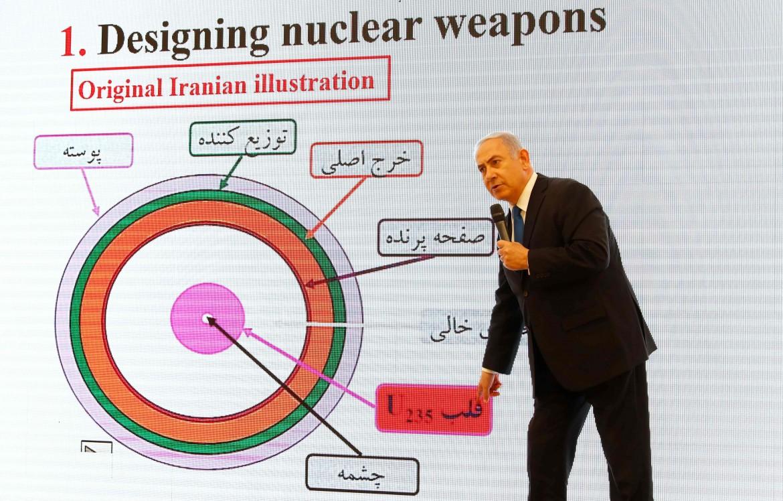 La presentazione di Netanyahu sulla presunta attività nucleare iraniana