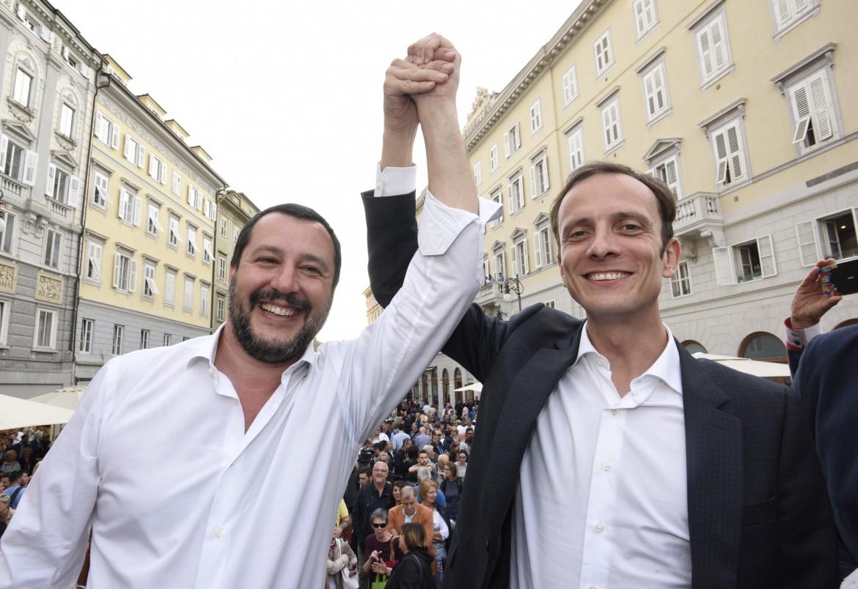 Matteo Salvini e Massimiliano Fedriga
