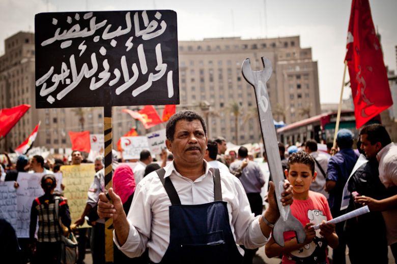 Primo maggio in Egitto