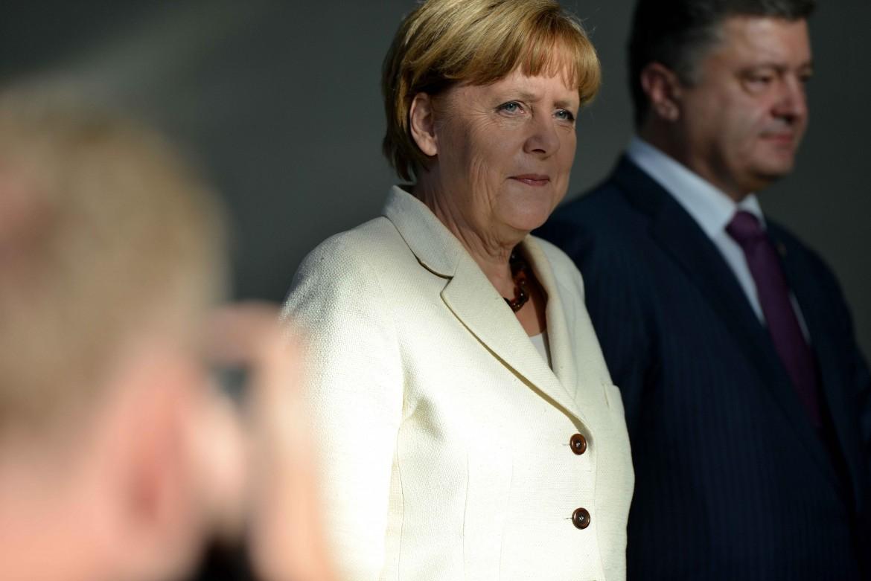 Merkel e Poroshenk