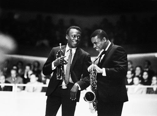 Miles Davis e Wayne Shorter nel 1968