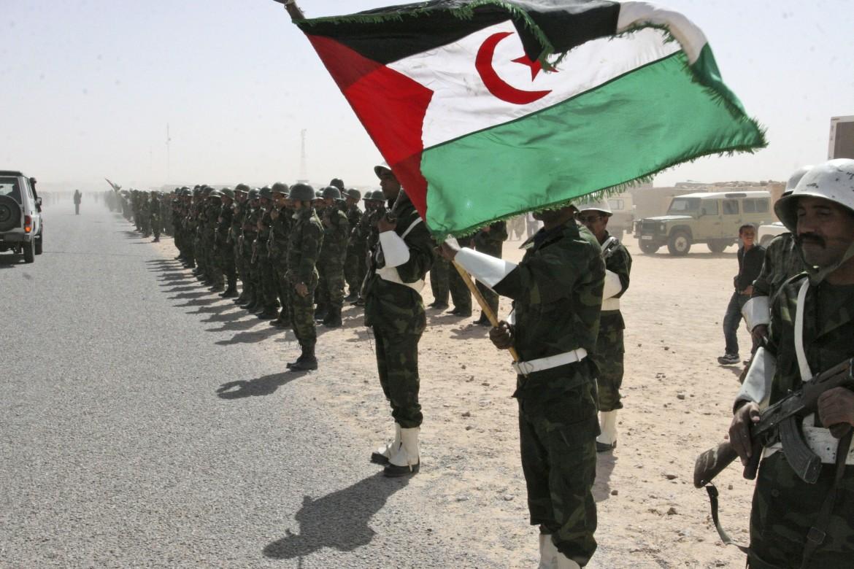 Combattenti del Polisario nel campo profughi di Smara