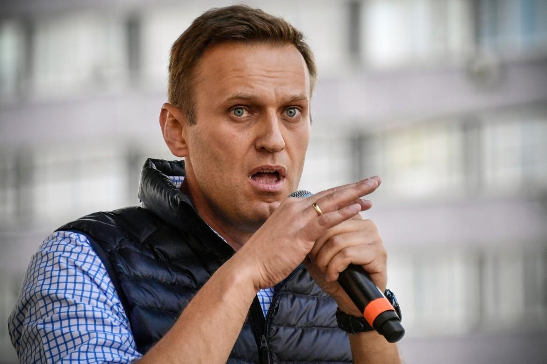 L'attivista nazionalista russo Navalny
