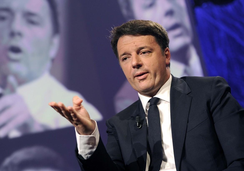 Il senatore Matteo Renzi